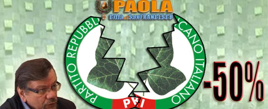 """Paola – «Chi tradisce, fallisce». Il Pri """"locale"""" perde molti supporters"""