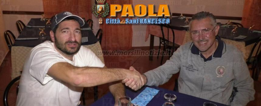 Paola – Zuffa allo stadio: Romagno e Sciammarella si stringono la mano