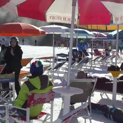 """Paola VD  """"Andalo, Andalo… arriba, arriba"""": Terredamare """"sale"""" in Trentino"""