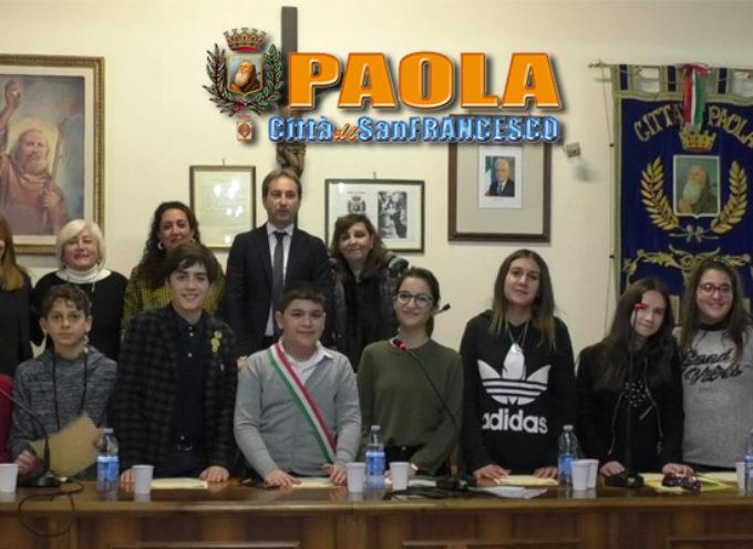 """Paola – Video – Un Consiglio """"tutto nuovo"""" ha esordito nell'aula Lo Giudice"""