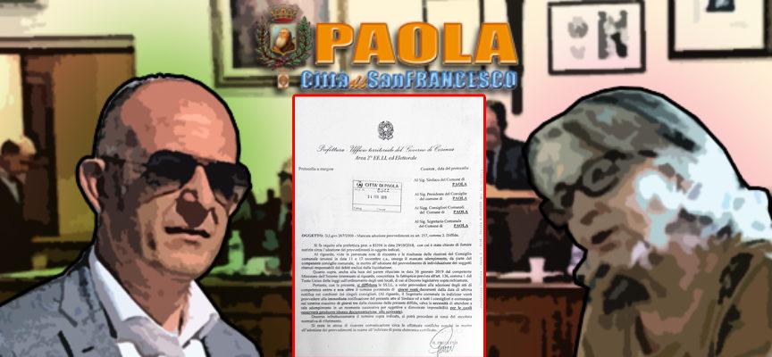 Paola – Debiti esclusi dall'Osl: il Prefetto diffida Perrotta. Esultano i Falbiani