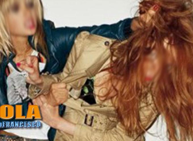 Paola – Rissa tra donne al Centro Commerciale: MOVENTE PASSIONALE