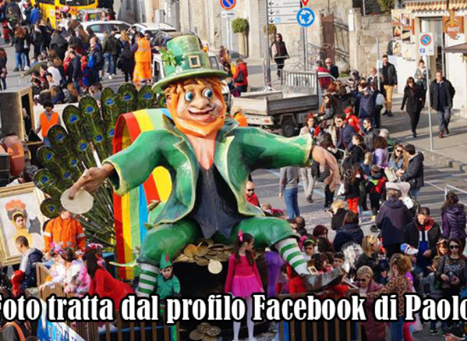Paola – Dopo il boom domenicale, oggi termina il 75° Carnevale Paolano