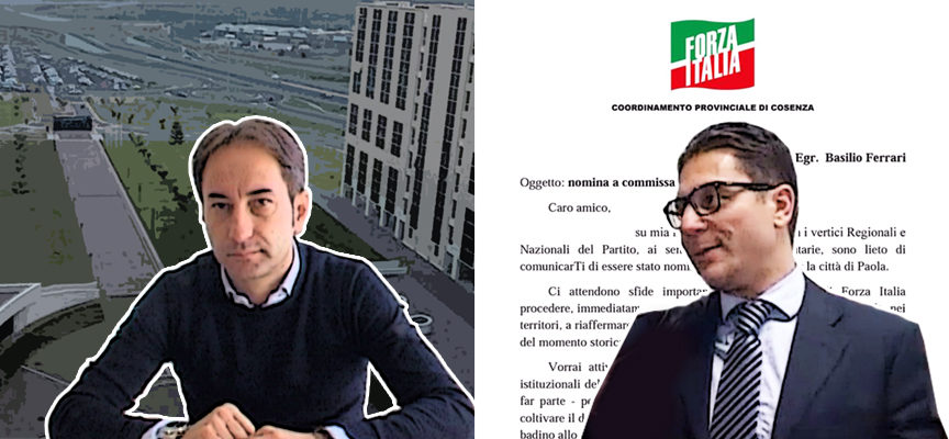 Paola – Di Natale, Regione «inevitabile». Ferrari commissario cittadino di FI