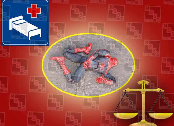 Paola: salvato il Tribunale (e l'Ospedale), ucciso l'Uomo Ragno