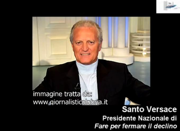 Intervista a Santo Versace – Audio