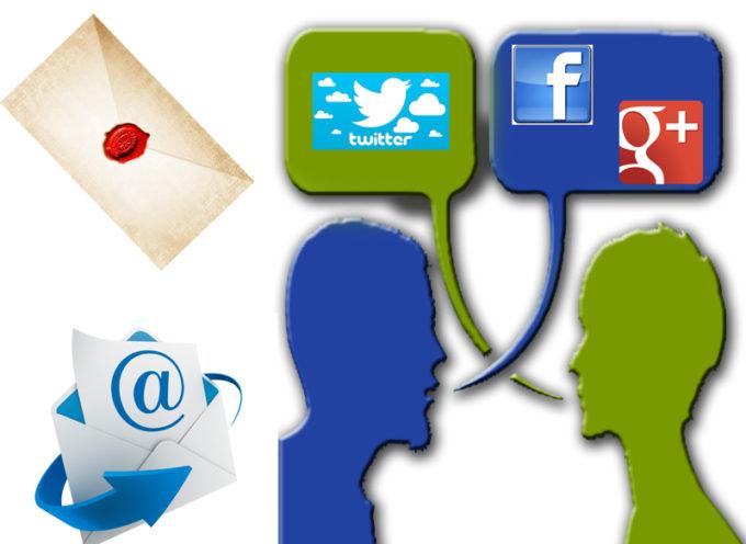 Dalle lettere alle e-mail, dai dialoghi ai social network. Ecco come cambia (in peggio?) il modo di comunicare