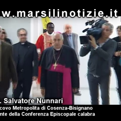 Mons. Nunnari in visita a Paola – Video Intervista
