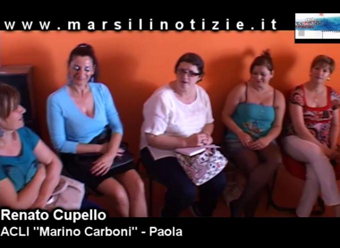 Paola, dalle ACLI arriva l'attestato per Assistenti Familiari [con VIDEO INTERVISTE]