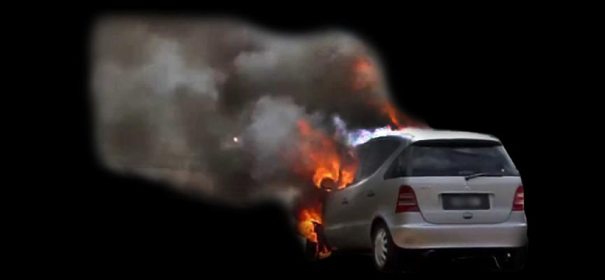 Paola, incendiata la macchina di un giornalista