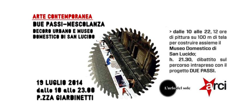 Decoro urbano e Museo Domestico: i target de L'Urlo del Sole