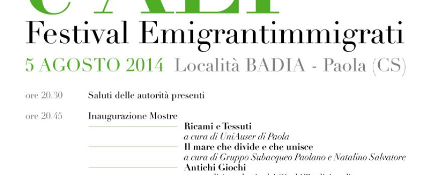 """Paola, l'Auser si prepara a """"Radici e Ali – Festival EmigrantImmigrati"""""""