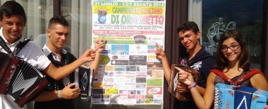 Campionato Italiano d'Organetto: 4 coppe per la Antonio Grosso School
