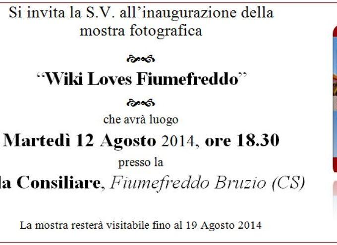 Wiki Loves Fiumefreddo, un altro paese in mostra