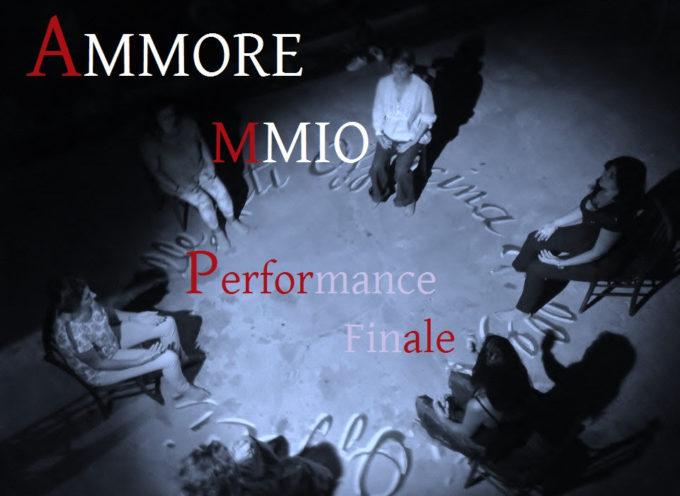 Alla Officina delle Arti performance finale Ammore Mmio