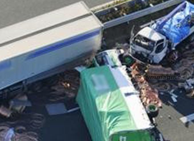 """Tragedia sfiorata sulla Sa RC, oggi: """"collisione multipla"""""""
