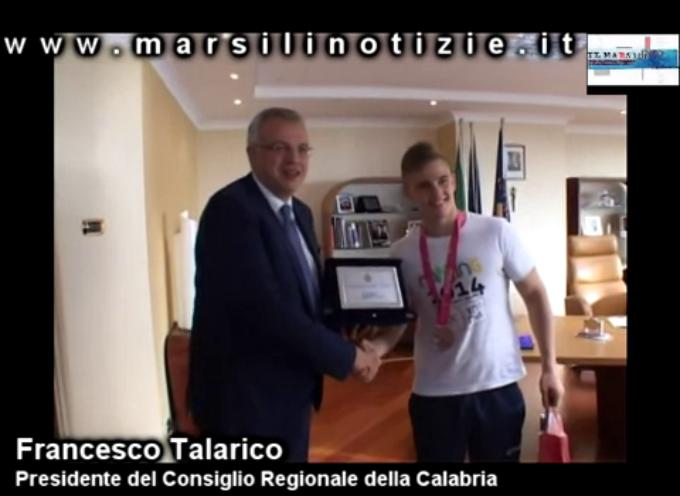 """Vincenzo Lizzi e Francesco Talarico: """"incontro"""" a Reggio [VIDEO]"""