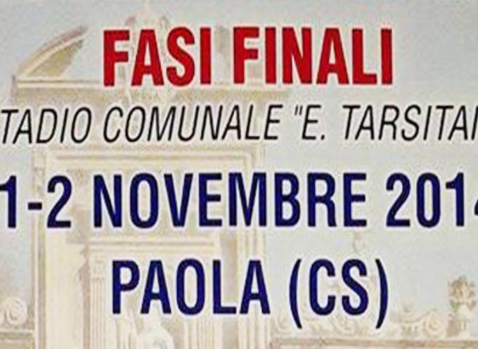 Torneo di solidarietà. Paola ospita la finale nazionale
