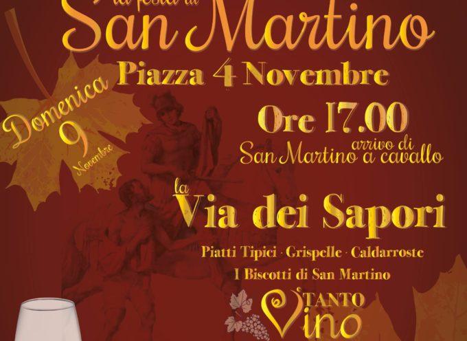 Oggi pomeriggio il Mantello di San Martino avvolgerà Paola
