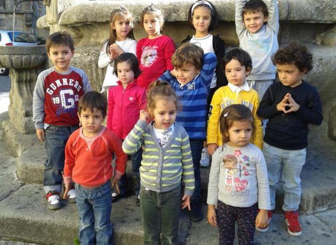 I Giardini d'infanzia e Albero Azzurro per i diritti dei bambini