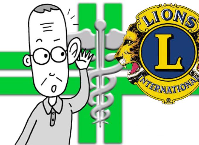 Test gratuito controllo dell'udito: progetto Lions Club