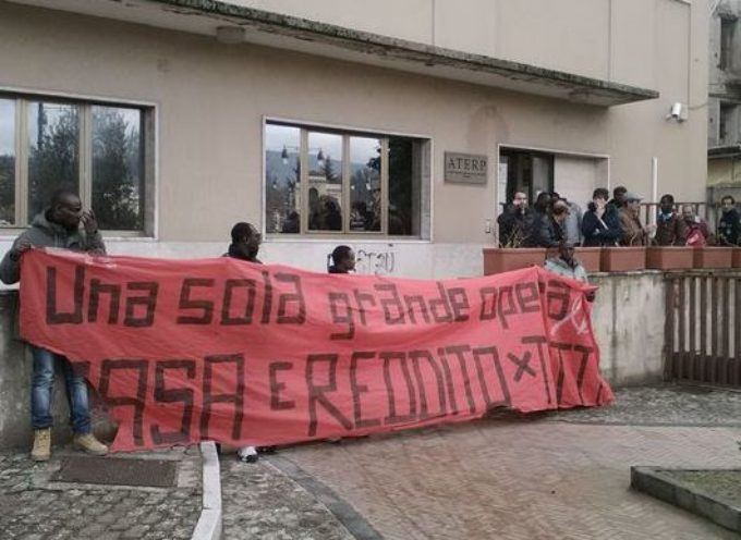 COSENZA: Comitato Prendocasa occupa uffici Aterp