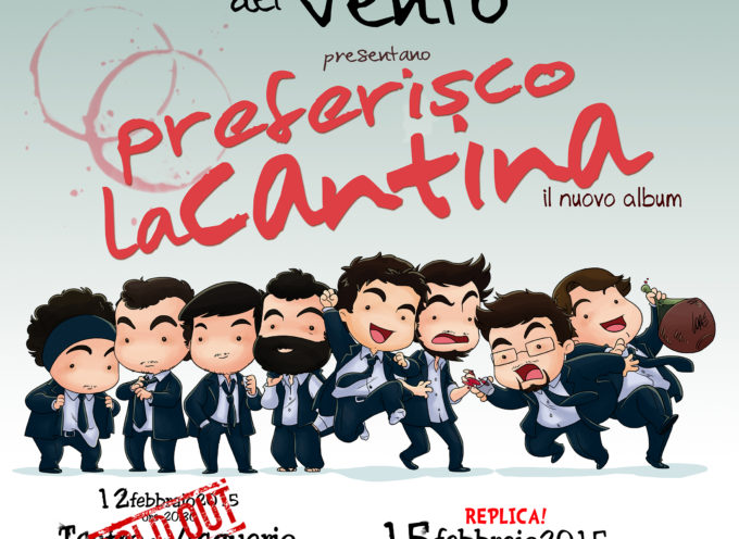 """Musicanti del Vento, """"Preferisco la Cantina"""" fa sold out a CS"""