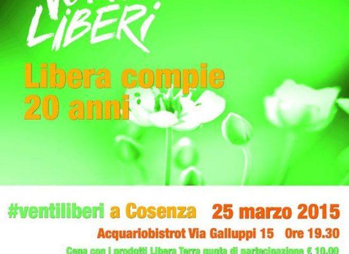 """San Lucido – Il 28 Marzo soffieranno i """"Venti Liberi"""""""