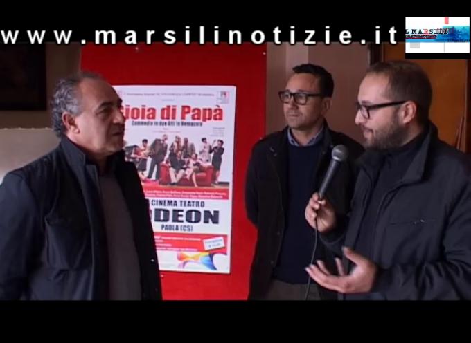 """[ESCLUSIVO] Paola – Il Teatro Odeon riapre il 18 Aprile con """"Gioia di Papà"""" [VIDEO INTERVISTA]"""