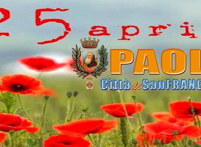 Paola – Quattro 25 Aprile e una Liberazione [VIDEO REPORT E INTERVISTE]