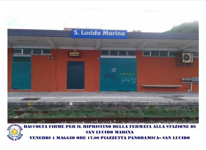 Onda d'Urto: petizione per salvare la fermata di San Lucido