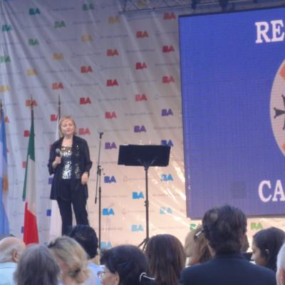 Paola – Cesira Frangella oggi parte per l'Australia in nome di S.Francesco