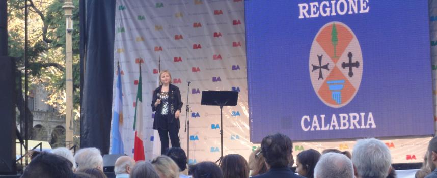 Cesira Frangella conquista il cuore italo-americano d'Argentina