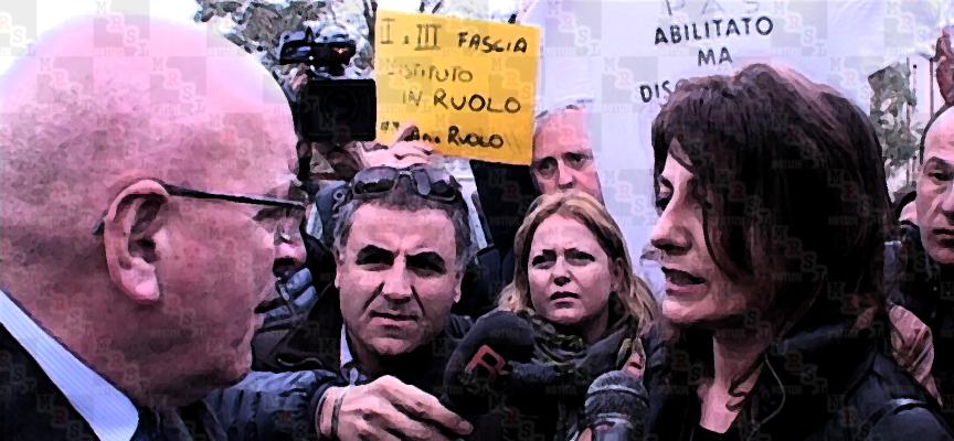 Oliverio a Paola con Ciodaro, Maiorano e docenti a rischio [VIDEO CON FASI DEL CONFRONTO]