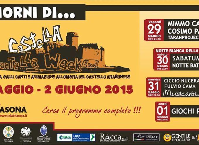 Le Castella Tarantella Week. Parte domani la II edizione