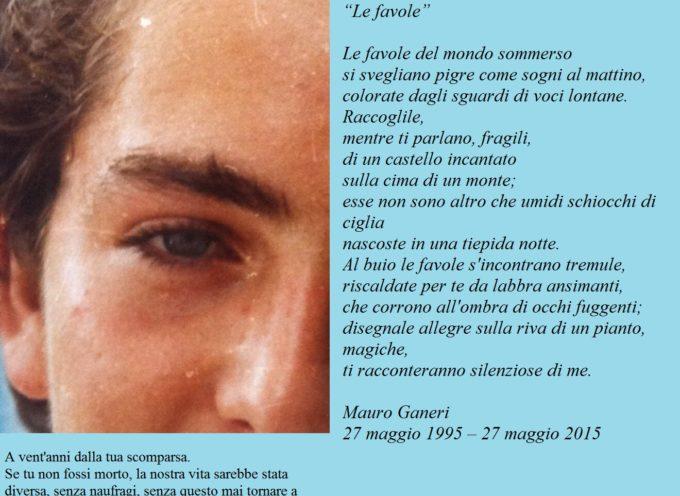 A 20 anni dalla scomparsa è vivo il ricordo di Mauro Ganeri