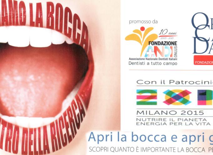 Paola – Iniziativa in Piazza contro il tumore della bocca