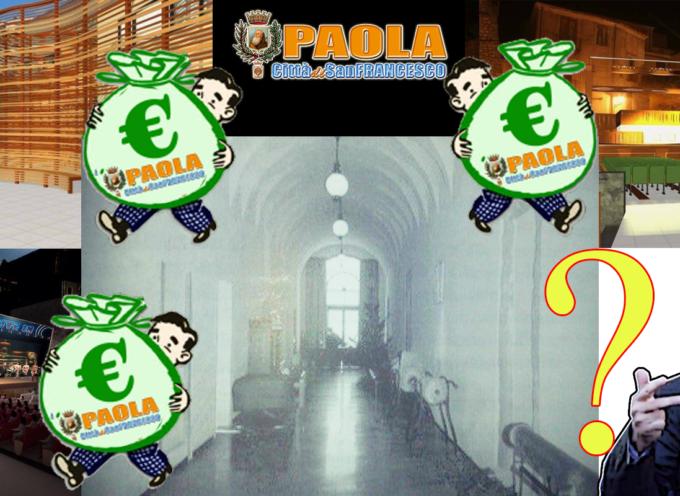 """Paola – «Dirottati i fondi per l'ex Palazzo di Città». Dove? [con VIDEO """"storico""""]"""