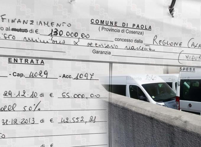 Paola – Pulmini e strade. È mistero sui soldi [Parla José Grupillo]