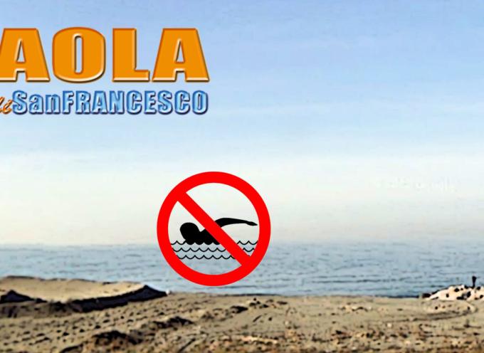 Paola – Il sindaco uscente vieta la balneazione in un tratto di mare cittadino