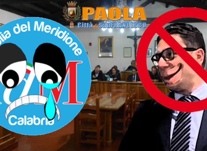 [Paola – Post Consiglio Comunale] Se Idm piange, Basilio Ferrari non ride