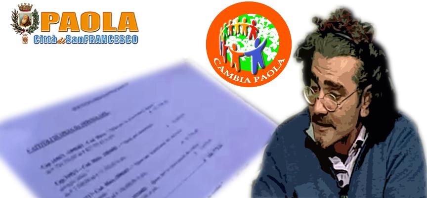 Paola – Comune diffidato a restituire il «maltolto» sulle bollette dell'acqua