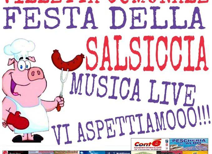 Torremezzo.Gradita la II edizione della festa della salsiccia