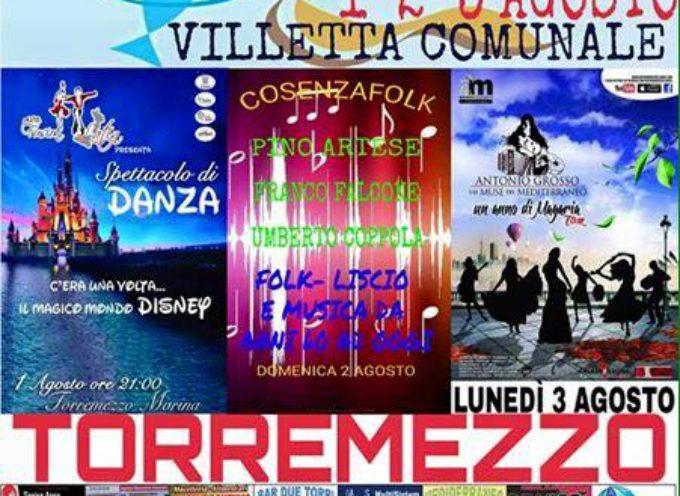 Torremezzo. Gastronomia e spettacoli per la Festa del Pesce