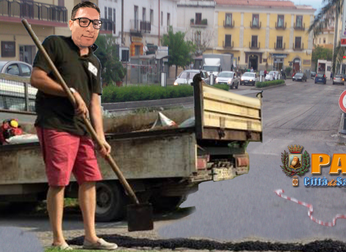 """[Paola] Basilio Ferrari dispone la bitumazione di strade """"principali"""""""