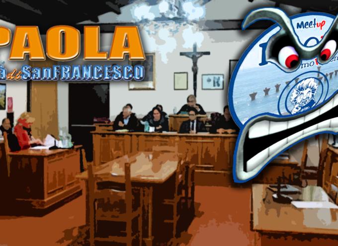 """[Paola] I grillini di Paola in Movimento """"strigliano"""" i consiglieri comunali [soprattutto quelli di minoranza]"""