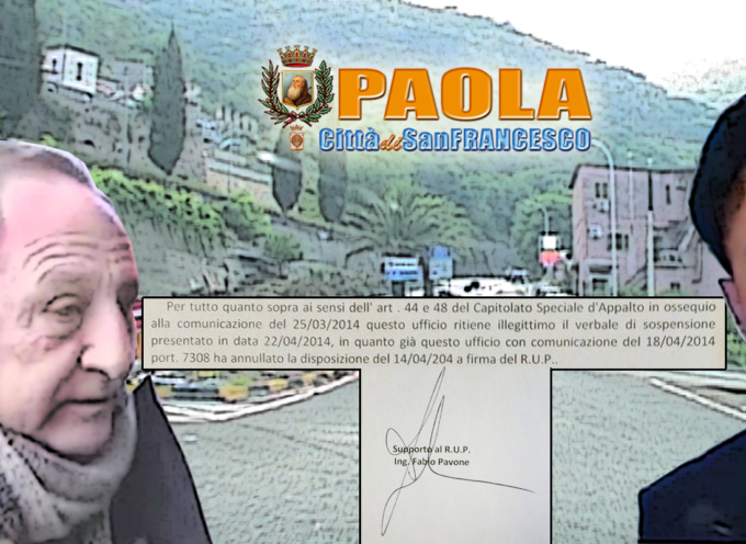 """UTC di Paola: il """"supporto"""" Pavone prevarica il """"titolare"""" Romito [Semplici Scaramucce?]"""