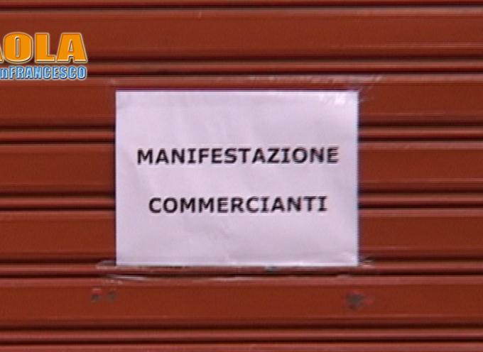Paola – I Commercianti protestano in Municipio [VIDEO E Intervista all'ass. Siciliano]