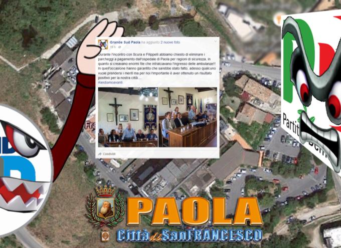 Abolizione Parcheggi a pagamento Ospedale Paola: polemica [«Adesso qualcuno vuole prendersi i meriti»]