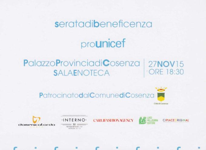 La magia dell'arte e della moda per una serata di solidarietà Pro Unicef